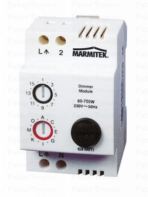 LD11 Lamp-/dimmer DIN module on/off/dim