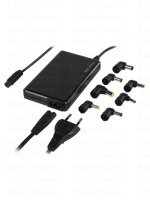 Universele notebook adapter extra plat 120W
