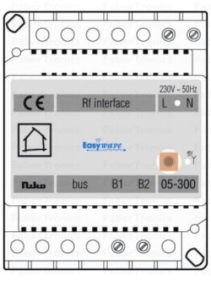 Niko Easywave RF - Nikobus interface
