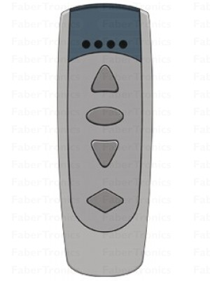 Niko Easywave RF handzender 5 kanalen 3 knoppen