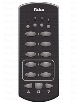 Niko Easywave RF handzender 4 kanalen 13 knoppen