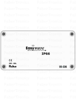 Niko Easywave RF opbouw ontvanger IP66 2 kanalen