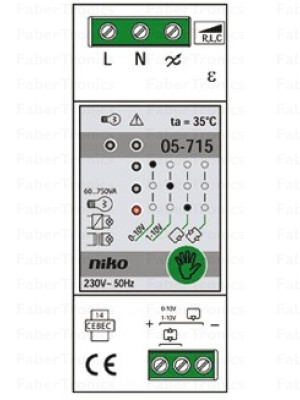 Niko DIN-rail dimmer 750VA
