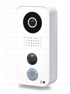 DoorBird IP Deurintercom D101 Polycarbonaat, wit