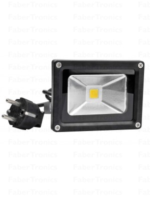 10W LED bouwlamp met stekker S10LEDWZC