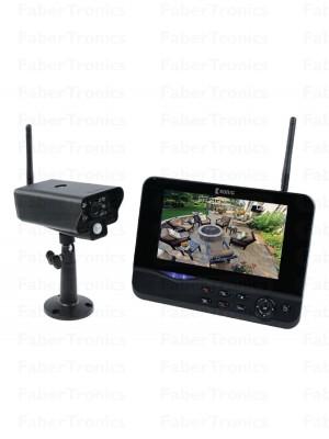 """Digitaal 2.4 GHz draadloos camerasysteem met 7 """" beeldscherm"""