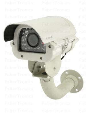 König Weerbestendige varivocale Camera met IR LEDS