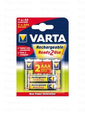 Varta Ready2use AA+AAA