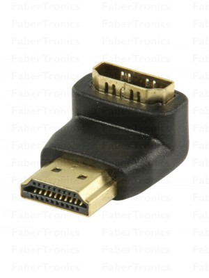 Haakse HDMI adapter 90°