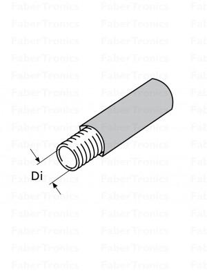 Webasto 80mm PAK geisoleerde luchtslang 12m rol