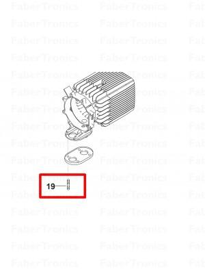 Webasto stiftschroef M6x31 8.8