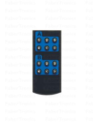 Losse afstandbediening voor: 4x2 Poorts HDMI matrix switch - Huismerk