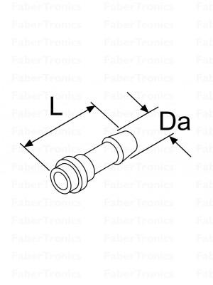 Webasto Slangafdichtingsnippel 8mm 10st