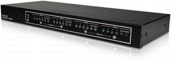 Cyp 4x4 Poorts HDMI matrix switch OR-HD44S