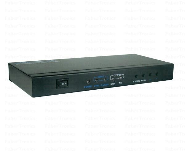 Multi system PAL NTSC SECAM converter - Huismerk