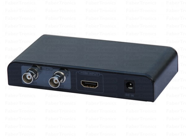 HDMI naar SDI converter - aansluitingen