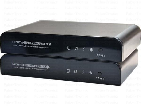 HDMI extender over glasvezel met IR