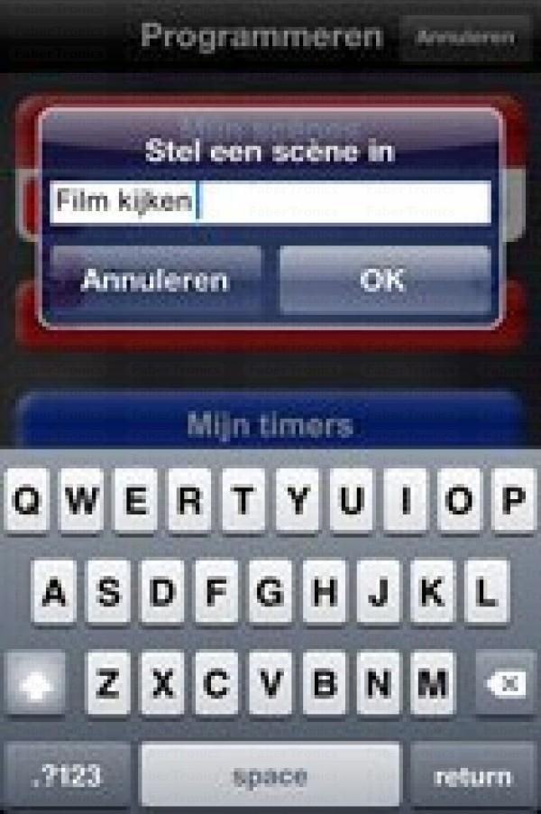 Klik aan Klik uit ICS-1000 app